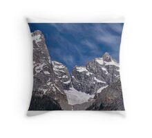 Grand Teton, Wyoming Throw Pillow