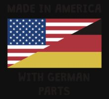 Made In American With German Parts Baby Tee