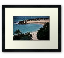Casa Dorado Bay Framed Print