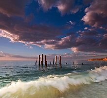 Pt Willunga - Late Light by KathyT