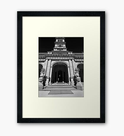 Werribee Mansion Framed Print