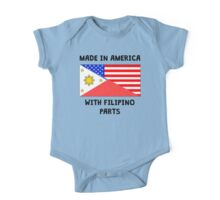 Made In American With Filipino Parts One Piece - Short Sleeve