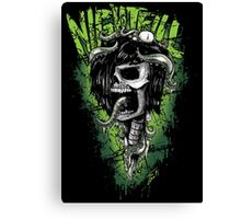 Nightfill - Dee Skull  Canvas Print