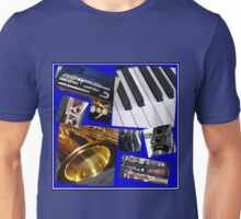 A Musical Miscellany Collage Unisex T-Shirt