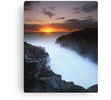"""Basalt Mist"" ∞ Fingal Head, NSW - Australia Canvas Print"
