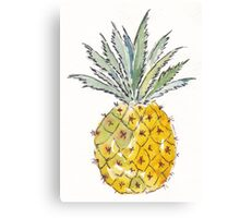 Pineapple pleasure Canvas Print