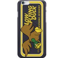 Low Flying Duck - greypurple iPhone Case/Skin