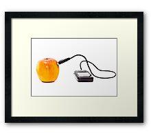 Apple networking Framed Print