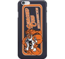 Smashed Crab Reconstruction logo - grey/purple iPhone Case/Skin
