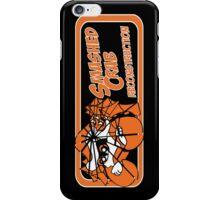 Smashed Crab Reconstruction logo - black iPhone Case/Skin