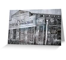 Spotswood Rail Building  Greeting Card