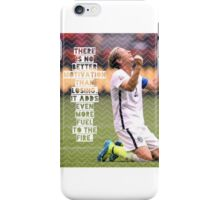 Abby Wambach Quote Design iPhone Case/Skin