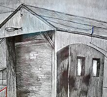 Old Shed, Spotswood  by MIchelle Thompson