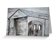 Old Shed, Spotswood  Greeting Card