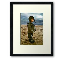 Lost in thought... Framed Print