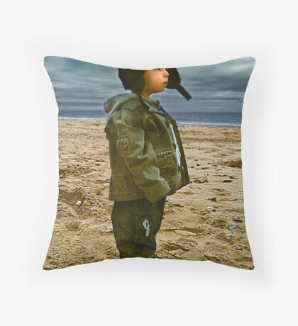 Lost in thought... Throw Pillow