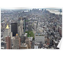 NEW YORK SKYSCAPE Poster