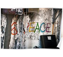 Peaceful Message Poster