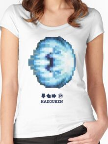 Classic Hadouken Women's Fitted Scoop T-Shirt