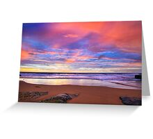 Turimetta Beach Sunrise  Greeting Card