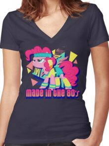 Made In The 80's Women's Fitted V-Neck T-Shirt