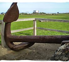 Hulk Anchor - used to anchor the Hulk Prison Ship  by EdsMum