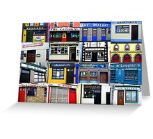 The Pubs of Miltown Malbay Greeting Card