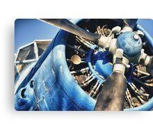 Blue Plane (Antonov 2) Canvas Print