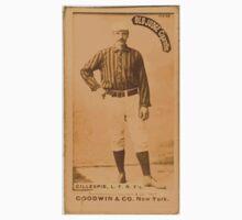 Benjamin K Edwards Collection Pete Gillespie New York Giants baseball card portrait 001 Baby Tee