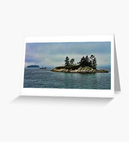 Maine Morning Scene Greeting Card