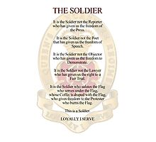 A Soldiers legacy. Photographic Print