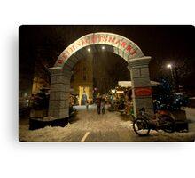Christmas Markets, Innsbruck, Austria Canvas Print