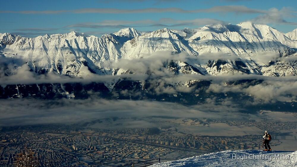 Innsbruck, Austria from Patscherkofel by Hugh Chaffey-Millar