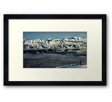 Innsbruck, Austria from Patscherkofel Framed Print