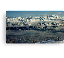 Innsbruck, Austria from Patscherkofel Canvas Print