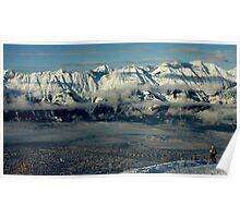 Innsbruck, Austria from Patscherkofel Poster