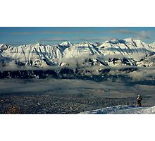 Innsbruck, Austria from Patscherkofel Photographic Print