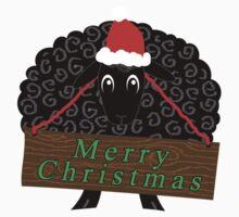 Christmas Cheer from a Black Sheep Kids Tee