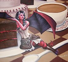 Devil's Food Cake by LCWaterworth