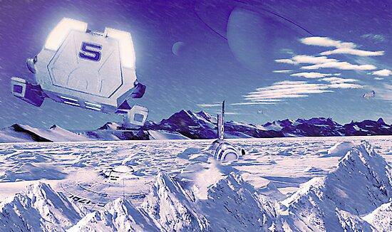 Star Trek : Crash Site by biring1701