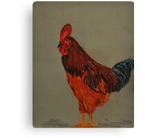 It's Fowl  Canvas Print