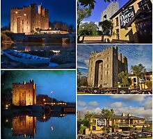 Bunratty Castle and Durty Nellys Pub, County Clare, Ireland. by upthebanner