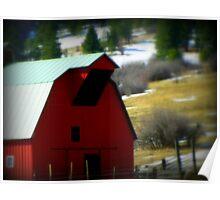 Red...Pendleton, Oregon Poster