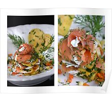 Salmon, Pancake and.... a Little Passion for Food Poster
