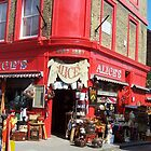 Shop in Portobello Market, London by magicaltrails