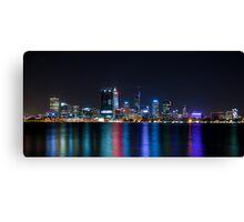 Perth Night Lights Canvas Print