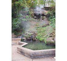 Hot Springs Photographic Print