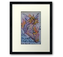 horoscope fairy Framed Print