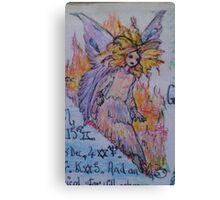 horoscope fairy Canvas Print