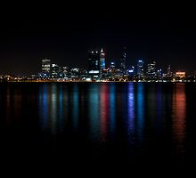 My town, my lights,my Perth. by Jarmat